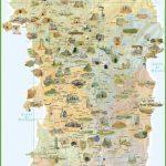 Sardinia Tourist Map   Printable Map Of Sardinia