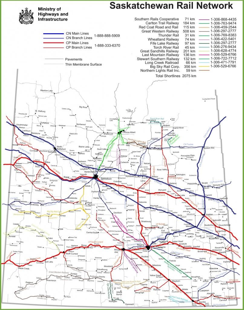 Saskatchewan Maps | Canada | Maps Of Saskatchewan (Sask, Sk) - Printable Map Of Saskatchewan