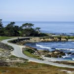 Scenic 17 Mile Drive In Picturesque Pebble Beach   17 Mile Drive California Map