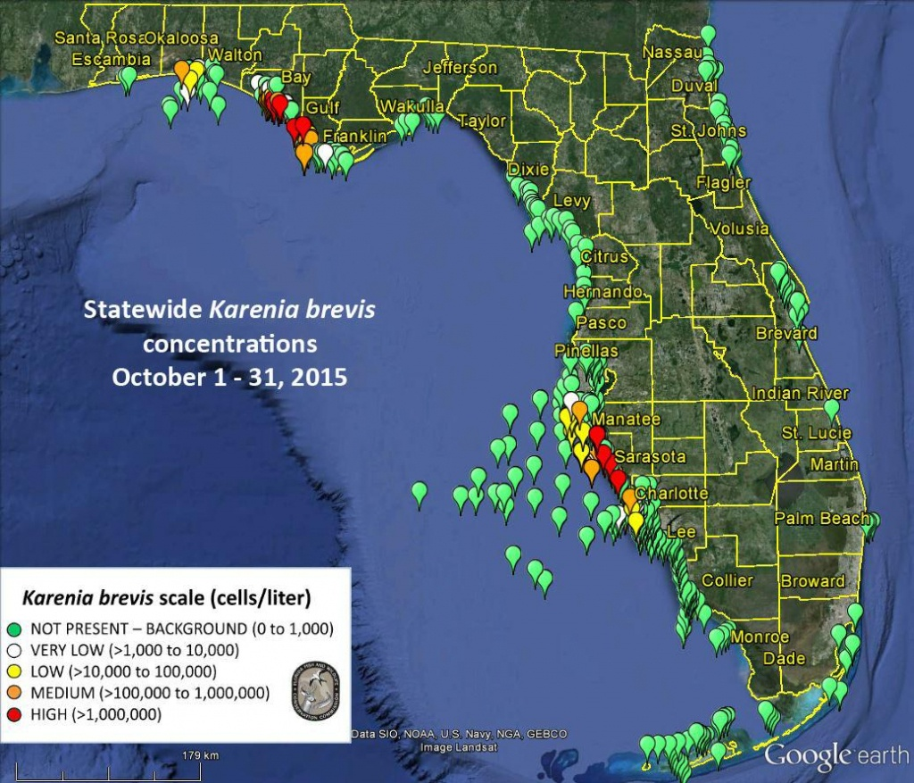Scientists: Ocean Currents, Not Fertilizers, The Major Cause Of 2018 - Current Red Tide Map Florida