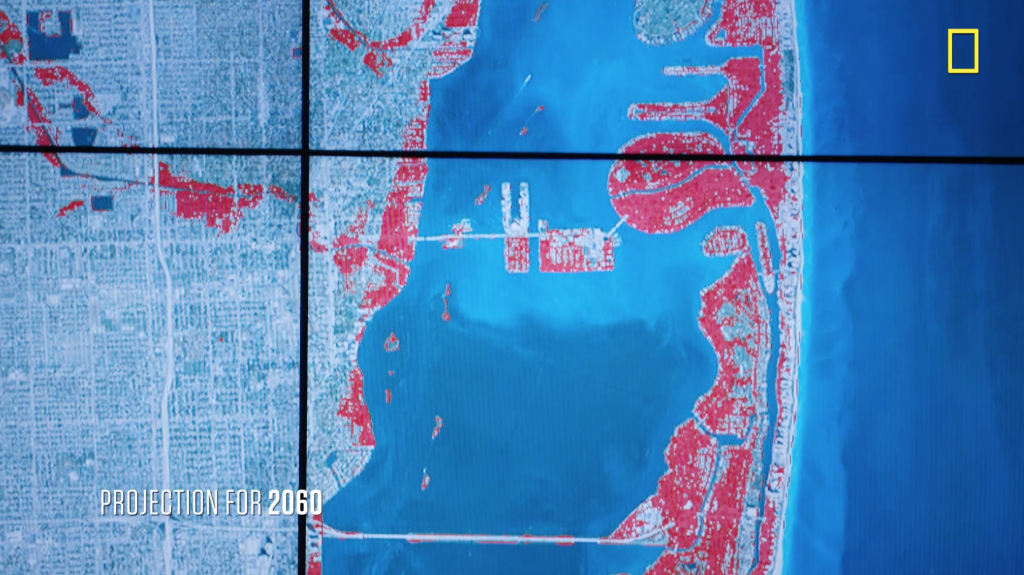 Sea Level Rise And Coastal Cities | National Geographic Society - Map Of Florida After Sea Level Rise