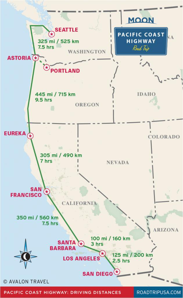 Seaside California Map | Secretmuseum - Seaside California Map