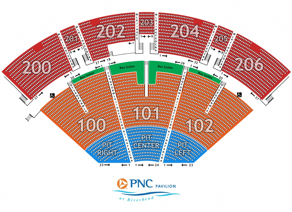 Seating Maps - Mid Florida Amphitheater Parking Map