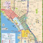 Seattle Tourist Map   Printable Map Of Seattle Area
