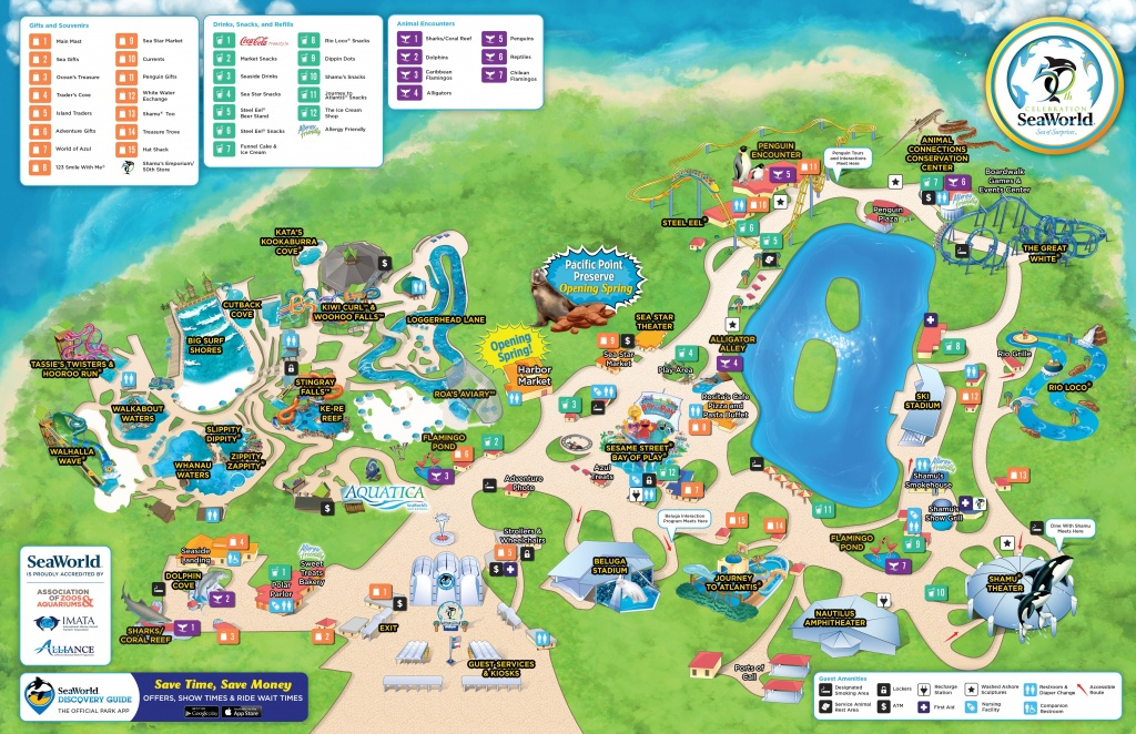 Seaworld Orlando Map Pdf New San Antonio Filefile Us Within Sea - Seaworld Orlando Park Map Printable