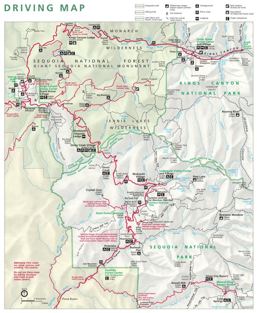 Sequoia Maps | Npmaps - Just Free Maps, Period. - Sequoia Park California Map