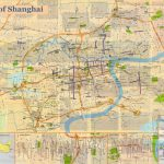 Shanghai Map, Printable Shanghai Map,shanghai Travel Map,large   Printable Travel Map