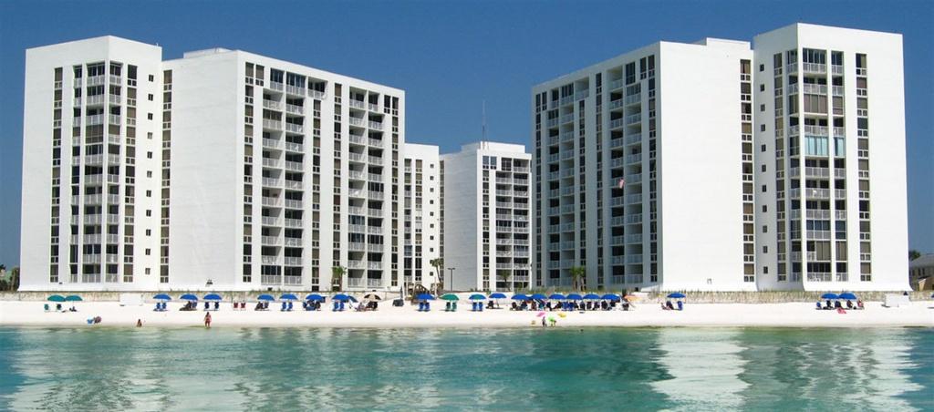 Shoreline Towers - Destin Florida Condos - Map Of Destin Florida Condos