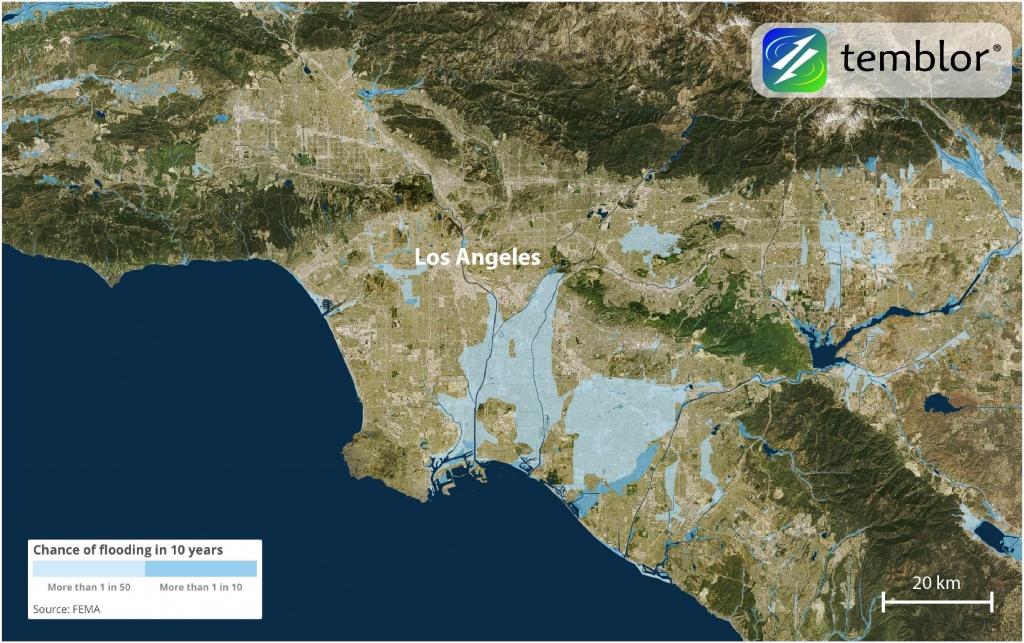 Should California Abandon The National Flood Insurance Program - California Flood Insurance Rate Map