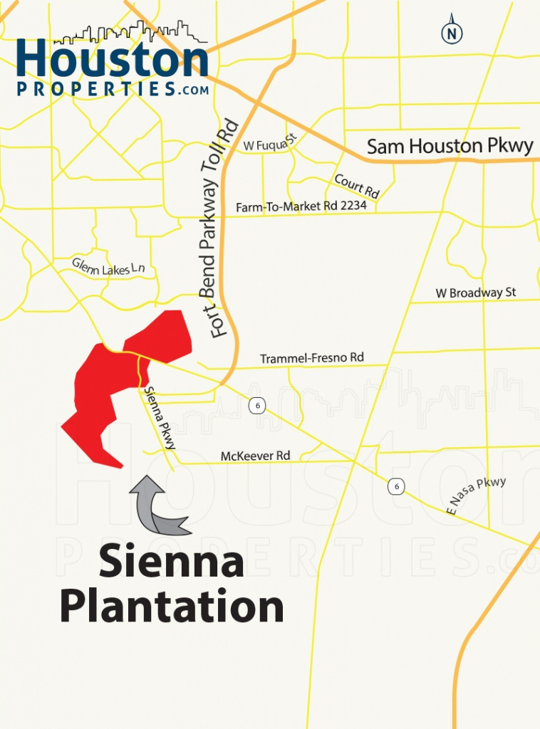 Sienna Plantation Texas | Sienna Plantation Homes For Sale - Sienna Texas Map