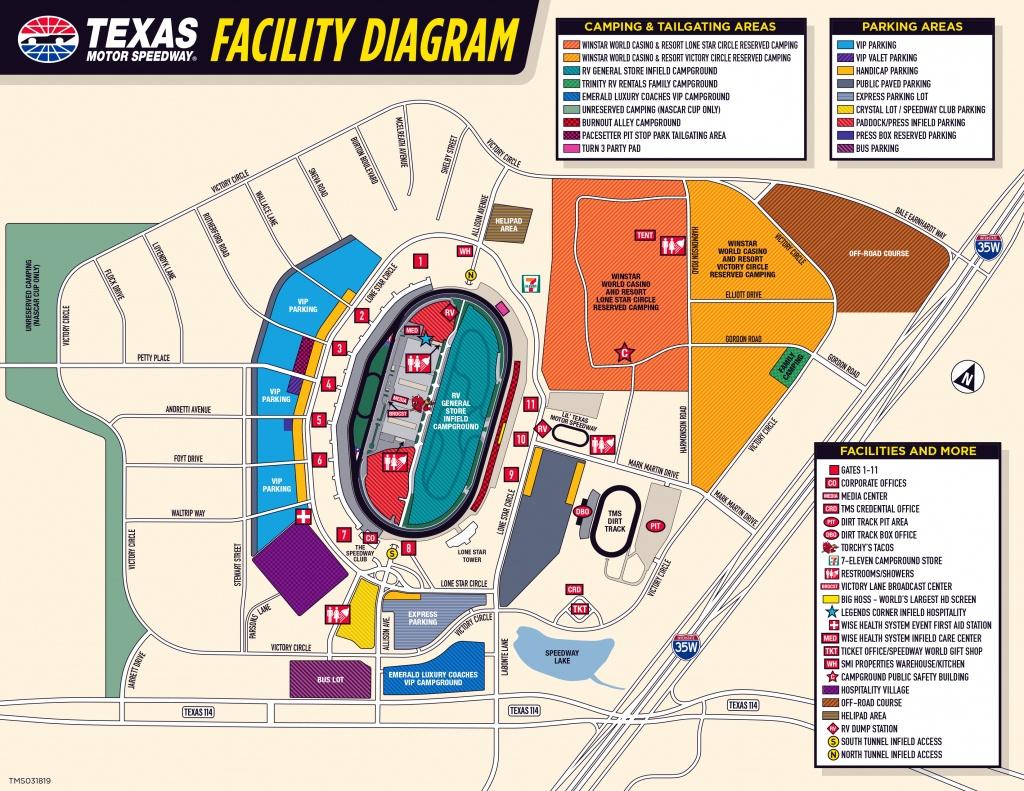 Sights & Sounds 2-Packsights & Sounds 2-Pack Presentedkawasaki - Texas Motor Speedway Track Map