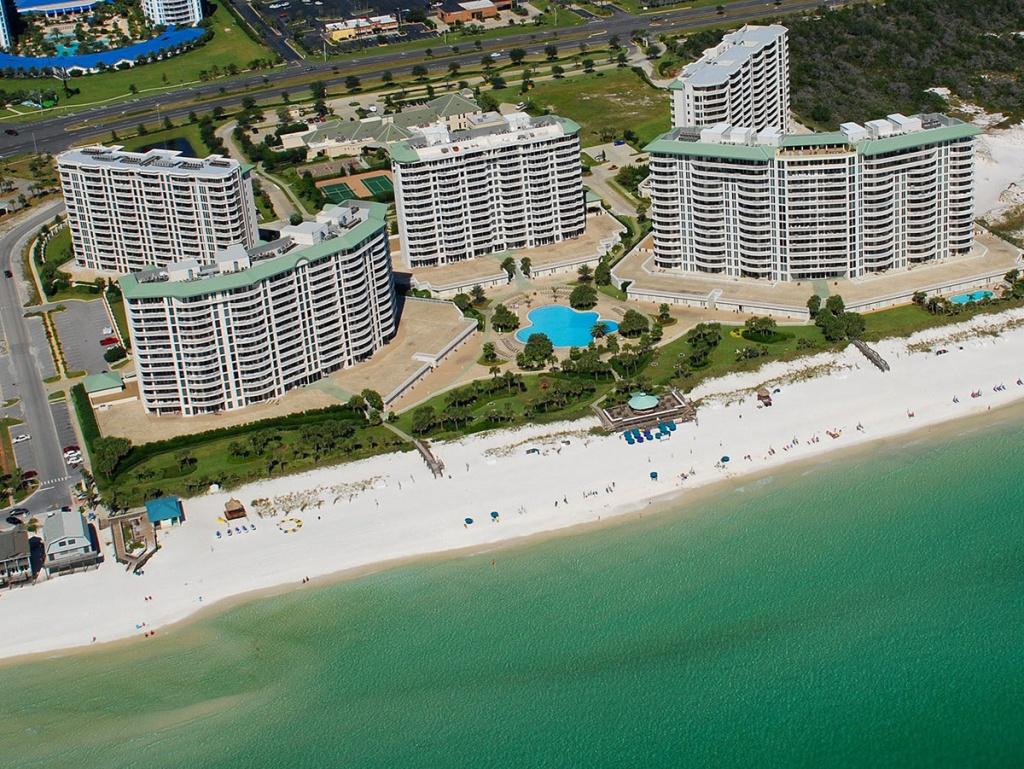 Silver Shells | Destin Condo Rentalsocean Reef Resorts - Map Of Destin Florida Condos