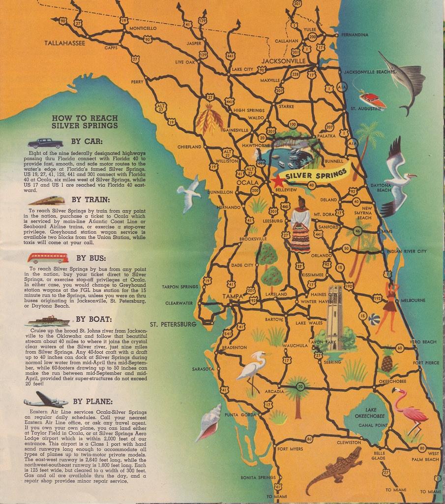 Silver Springs Florida Map | Liz Hall | Flickr - Silver Springs Florida Map