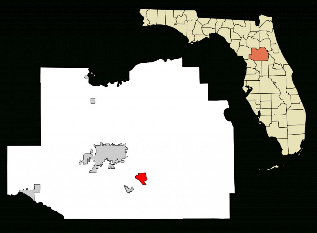 Silver Springs Shores, Florida - Wikipedia - Silver Springs Florida Map