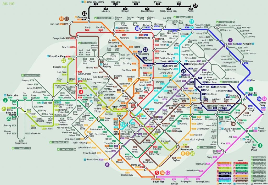 Singapore Mrt Map | Traveling | Singapore Map, Map, Singapore - Singapore Mrt Map Printable