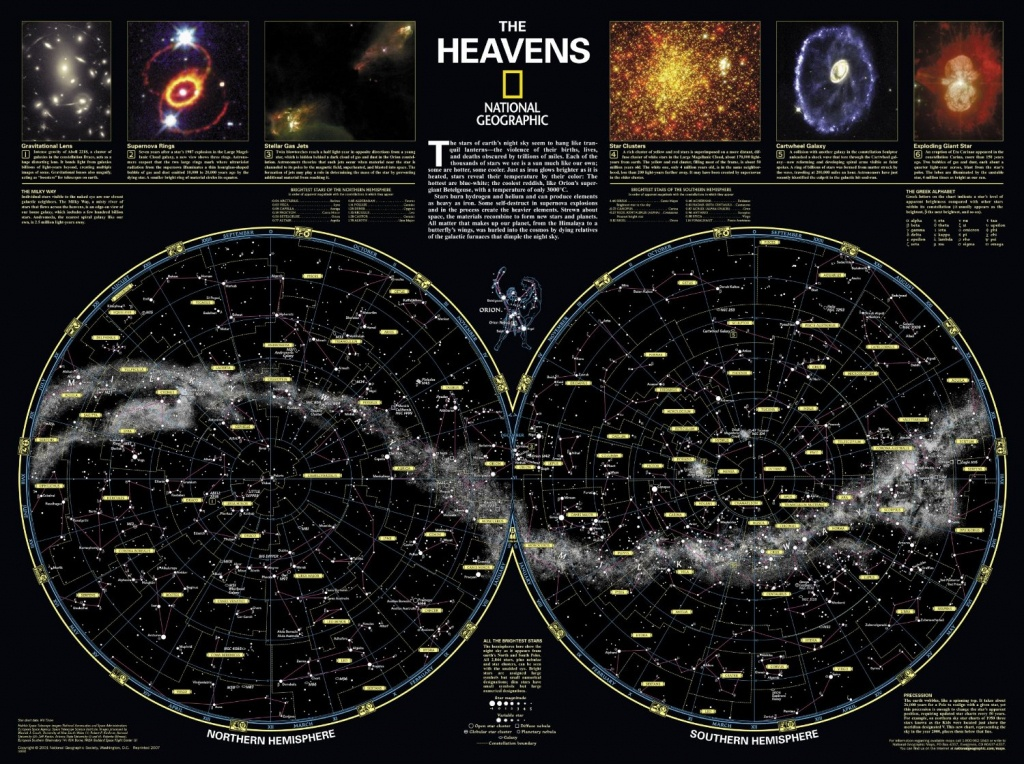 Skymaps - Publication Quality Sky Maps & Star Charts - Printable Constellation Map
