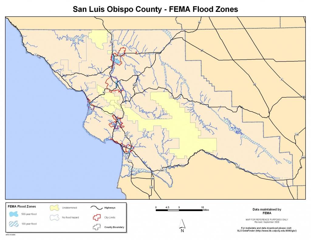 Slo Datafinder - San Luis Obispo California Map