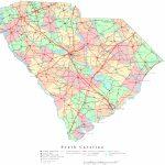 South Carolina Printable Map   Printable Map Of North Carolina Cities