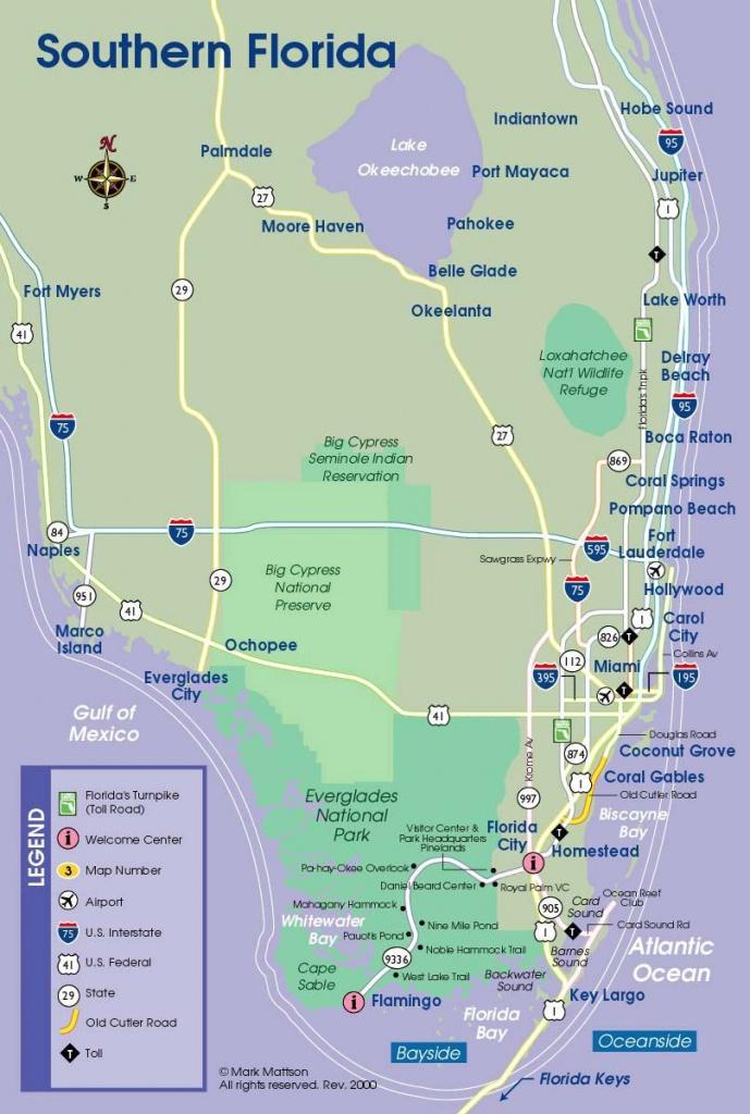 South Florida Map | Travel Maps | South Florida Map, Florida - Boca Florida Map