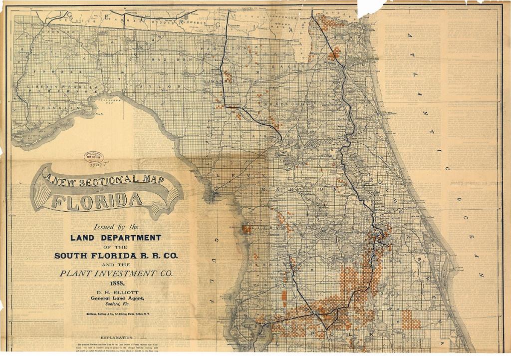 South Florida Railroad - Wikipedia - Florida Railroad Map
