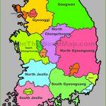 South Korea Maps | Maps Of South Korea (Republic Of Korea)   Printable Map Of Korea