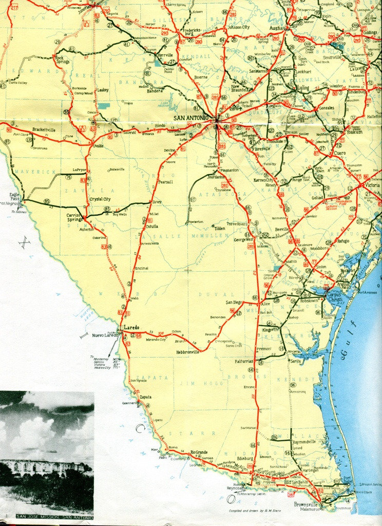 South Texas Maps And Travel Information | Download Free South Texas Maps - South Texas Road Map
