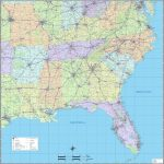 Southeast 17 Map Of Southeast Us | Ageorgio   Printable Map Of Southeast Us