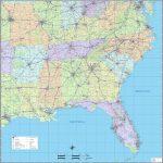 Southeast 17 Map Of Southeast Us | Ageorgio   Printable Map Of Southeast Us