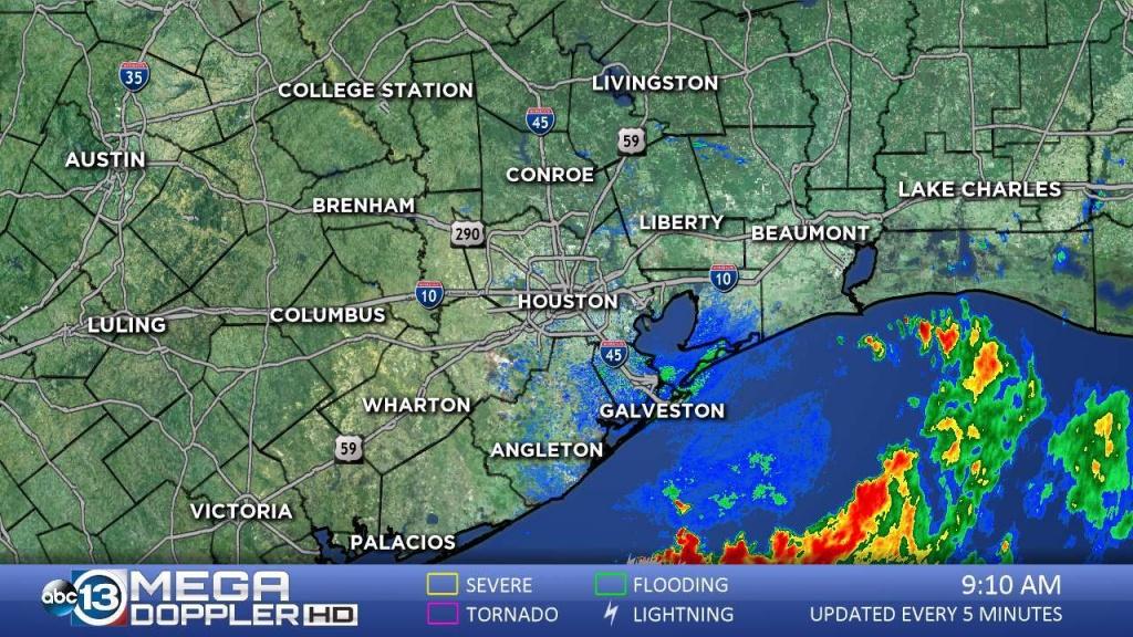 Southeast Texas Radar | Abc13 - Radar Map For Houston Texas