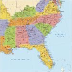 Southeastern United States Road Map New Driving Map Southeast Us Wp   Printable Map Of Southeast Us