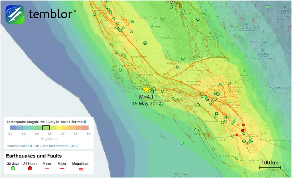 Southern-California-Earthquake-Map-Earthquake-Forecast – Temblor - Southern California Earthquake Map