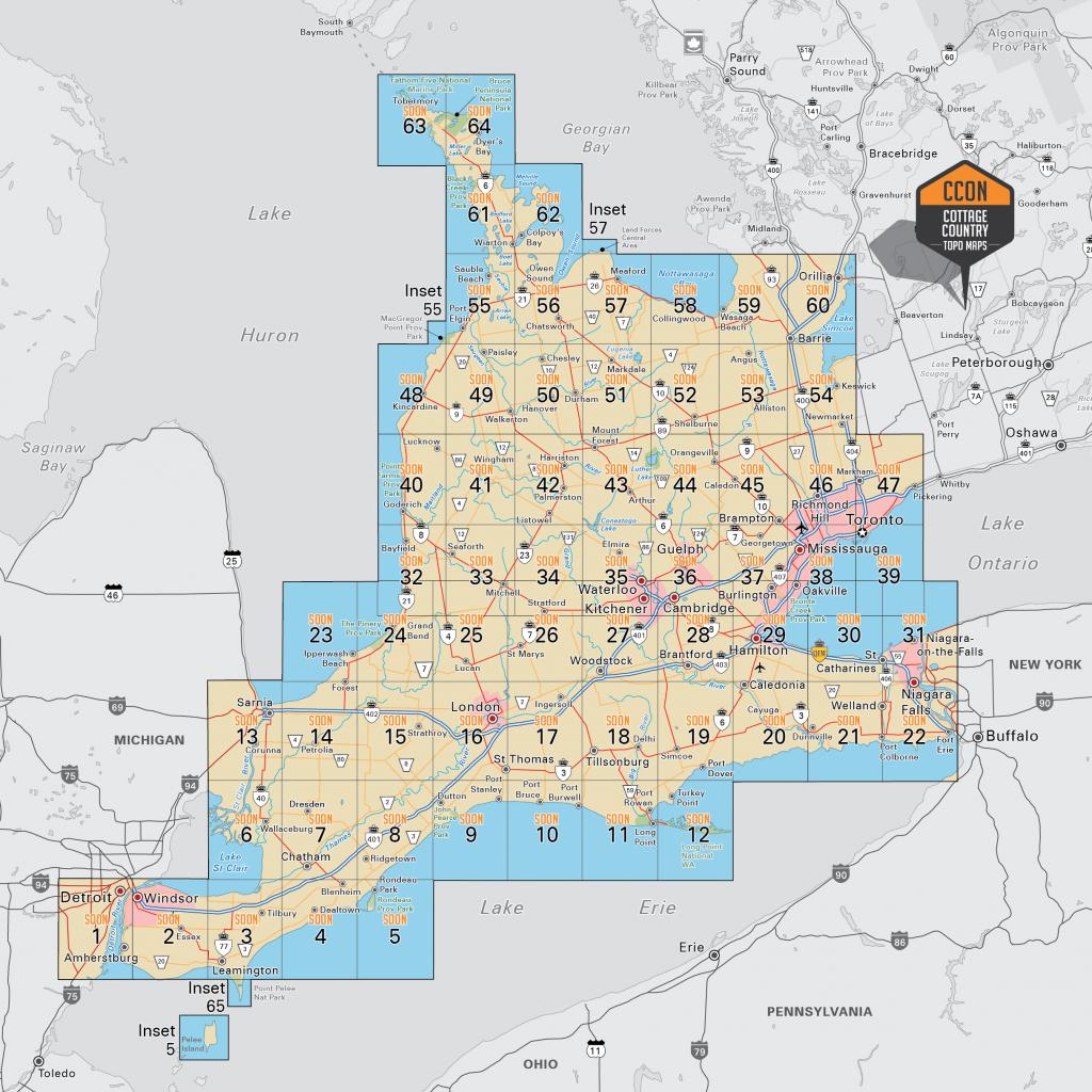 Southwestern Ontario - Printable Map Of Ontario