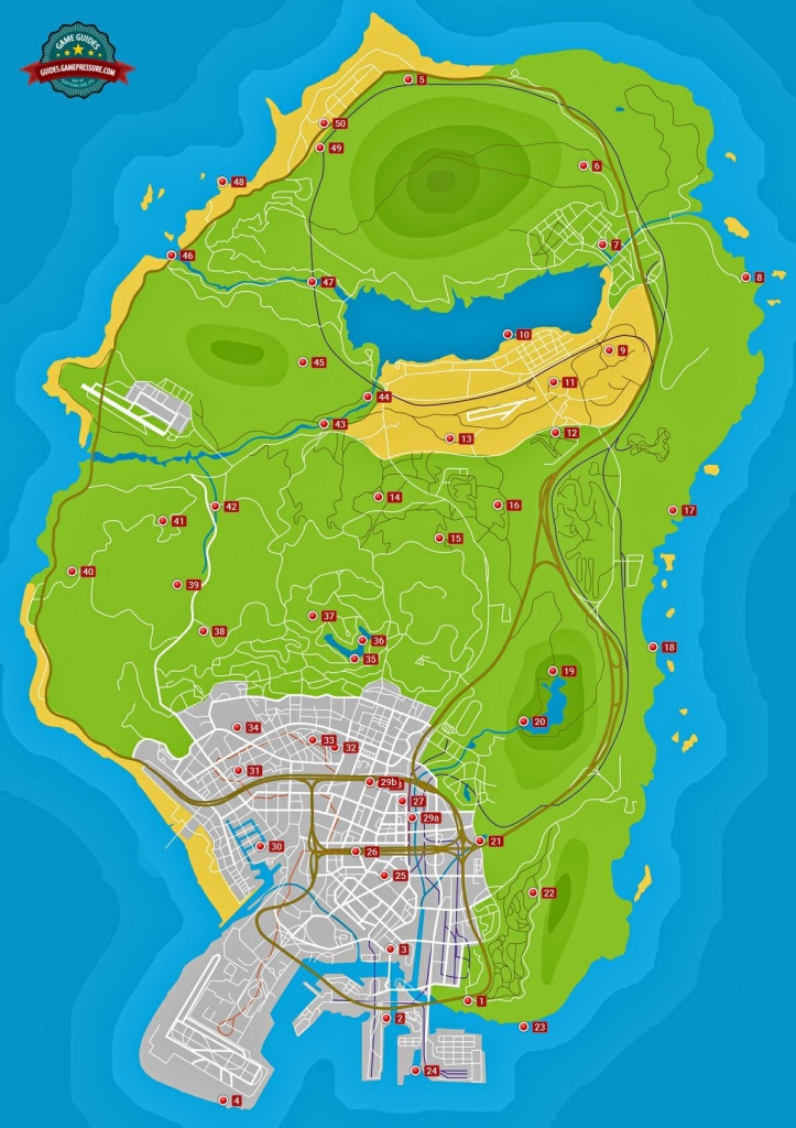 Spaceship Parts - Grand Theft Auto V Game Guide | Gamepressure - Gta 5 Map Printable