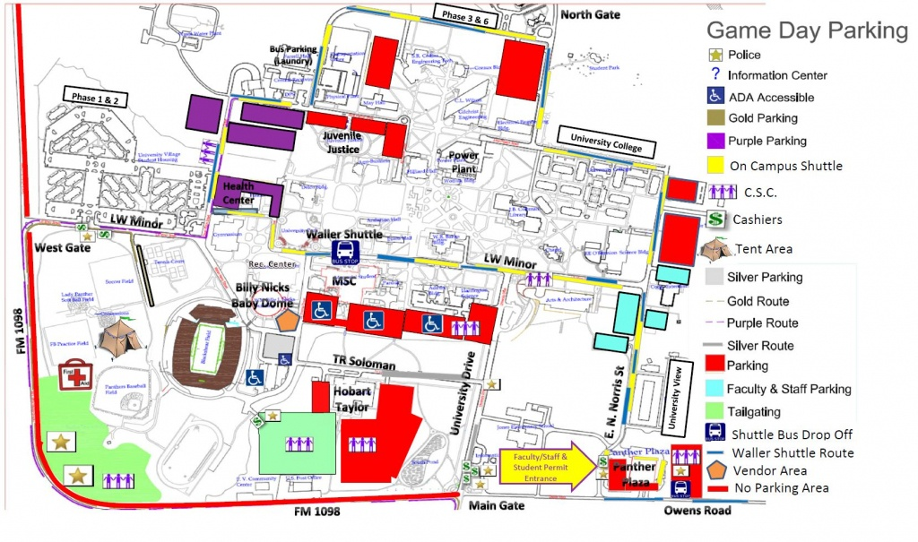 Special Events Parking - Auxiliary Services - Texas A&m Parking Map