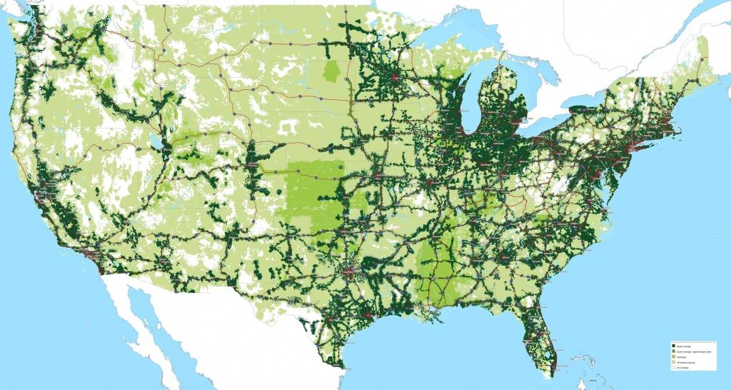 Sprint Coverage Maps (1-19-2016) : Sprint - Sprint Coverage Map California