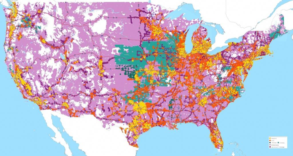 Sprint Coverage Maps (1-19-2016) : Sprint - Sprint Service Map Florida