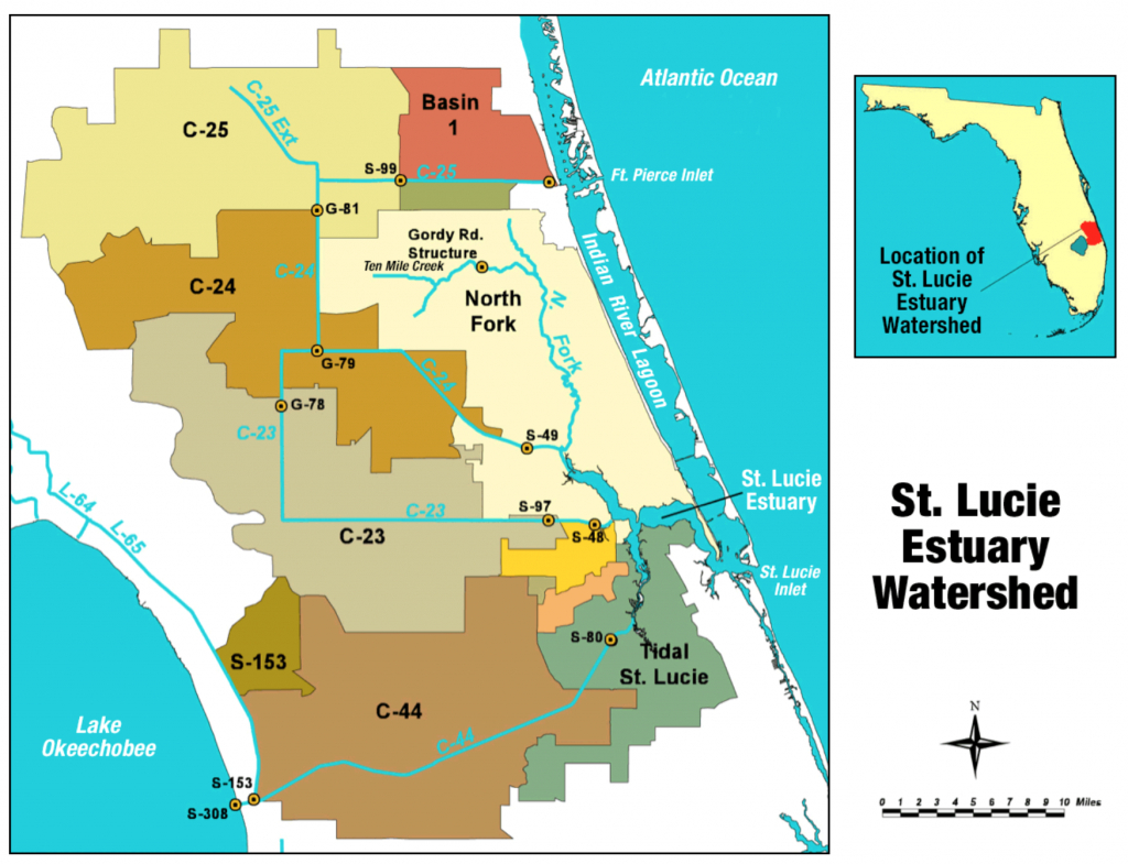 St. Lucie River - Wikipedia - Florida Map With Port St Lucie
