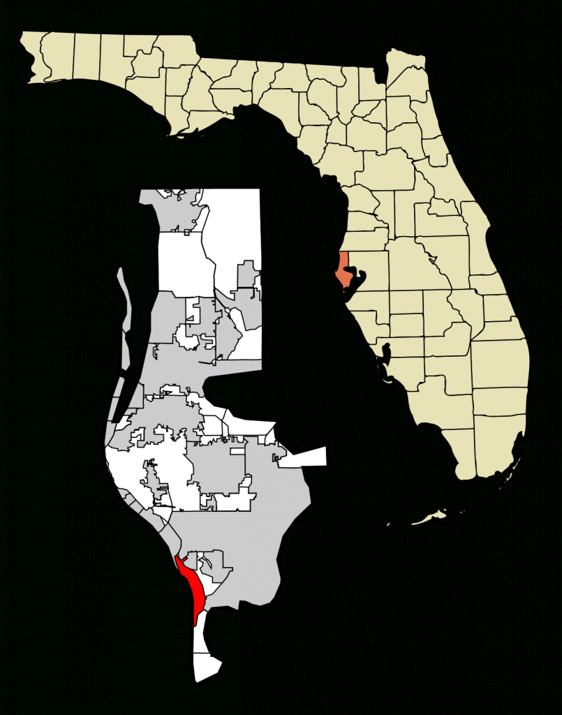 St. Pete Beach, Florida - Wikipedia - St Pete Beach Florida Map
