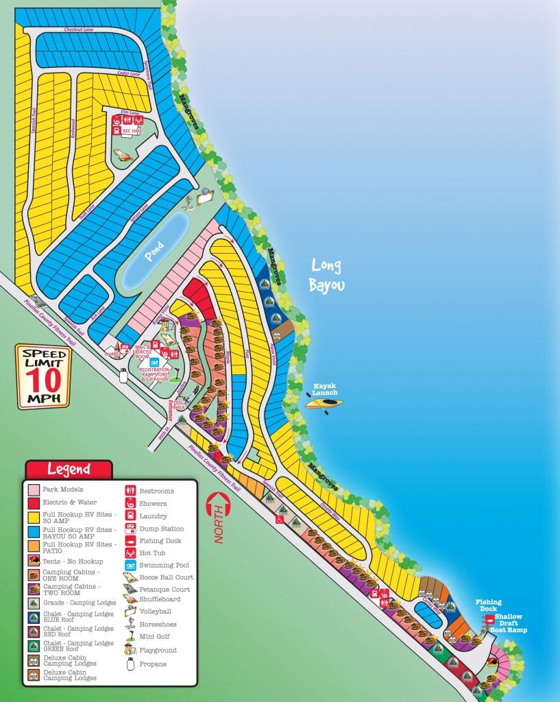 St. Petersburg / Madeira Beach Koa Campsites Start At $51.50 Per - Florida Rv Campgrounds Map