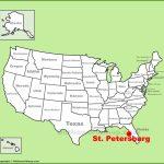 St. Petersburg Maps | Florida, U.s. | Maps Of St. Petersburg   St Pete Florida Map