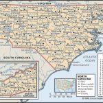 State And County Maps Of North Carolina   Printable Map Of North Carolina Cities