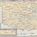 State And County Maps Of Oklahoma   Map Of North Texas And Oklahoma