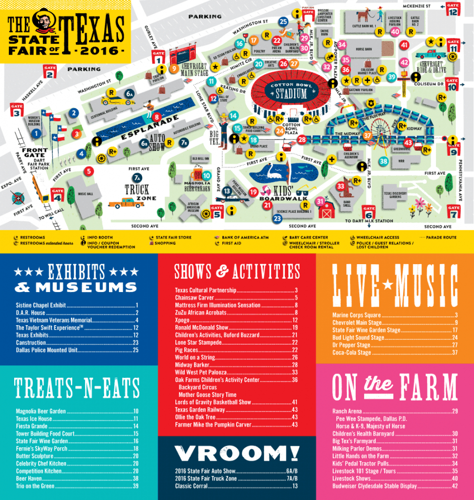 State Fair Of Texas Parking Map | Business Ideas 2013 - Texas State Fair Parking Map