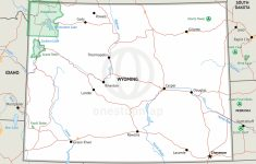 Stock Vector Map Of Wyoming | One Stop Map   Printable Map Of Wyoming