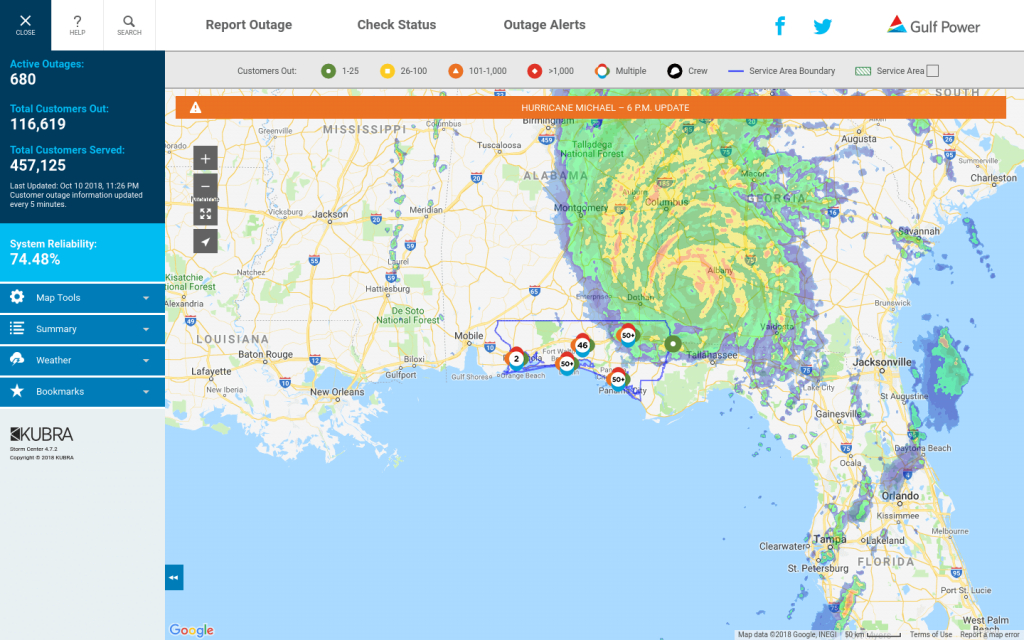 Storm Center Outage Maps Receive 3.1 Million Views For Record - Duke Florida Outage Map