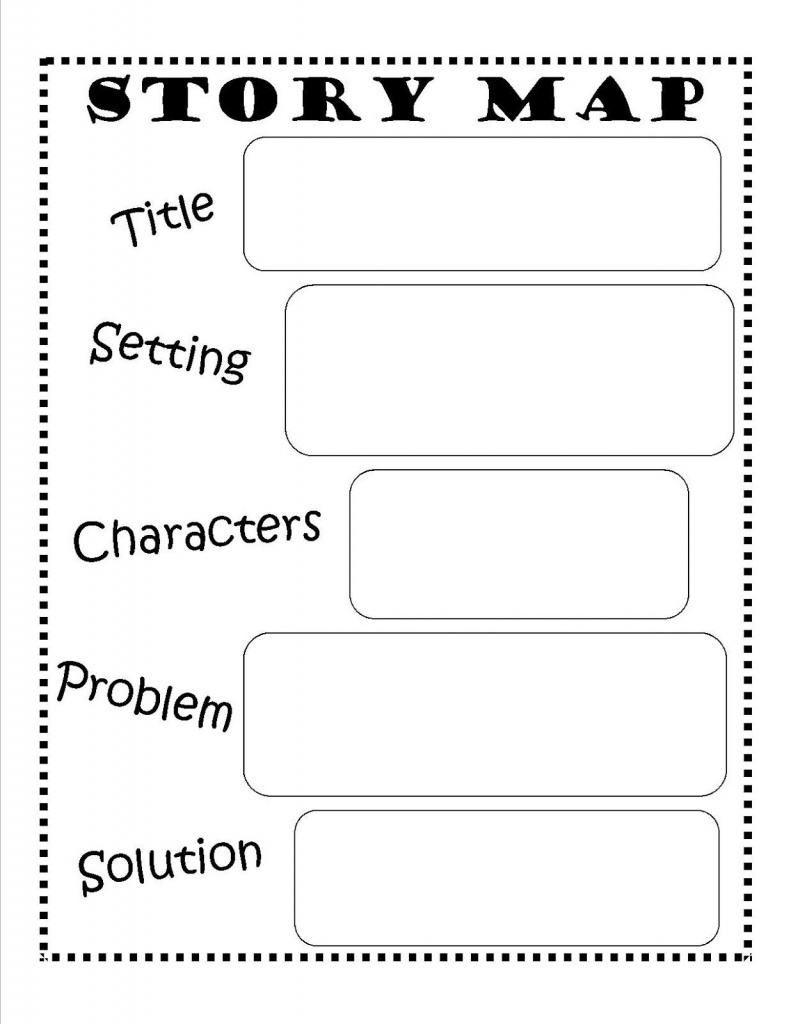 Story Map - Free Printable #reading #writing #kids   Ela   Story Map - Printable Character Map
