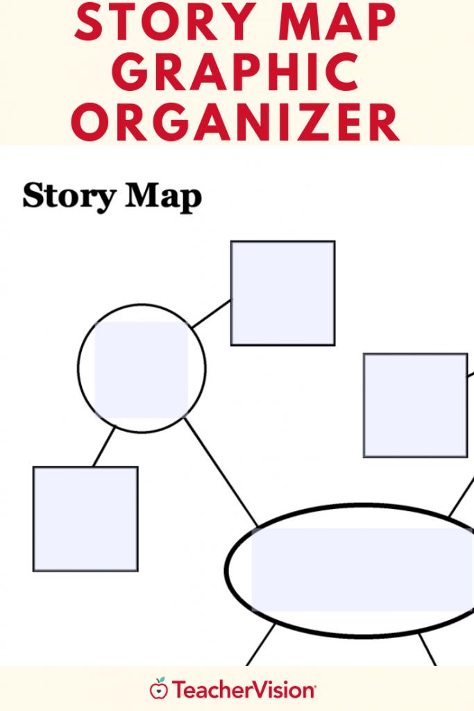 Story Map Graphic Organizer   Graphic Organizers   Graphic - Printable Story Map Graphic Organizer