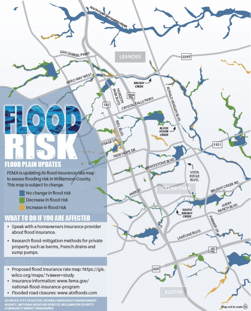 Story To Follow In 2019: Flood Insurance Rate Map Updates To Affect - Round Rock Texas Flood Map