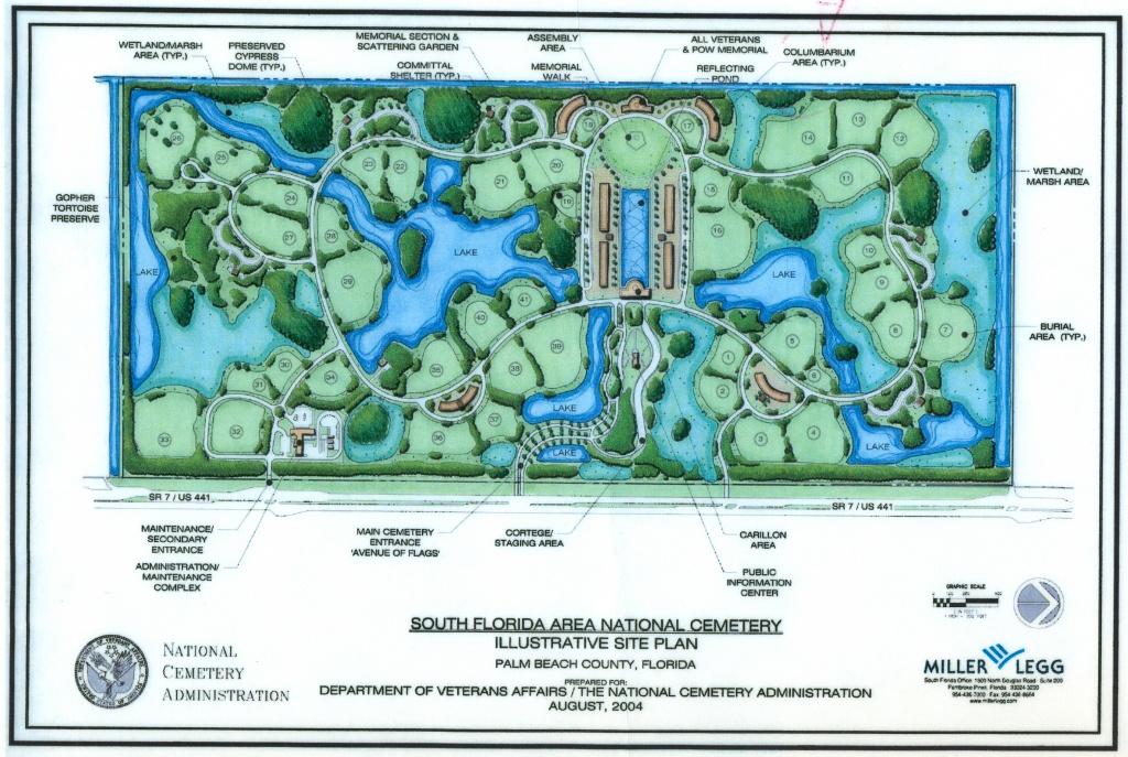 Success - Florida National Cemetery Map