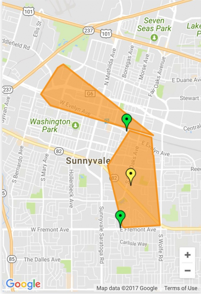 """Sunnyvale Dps On Twitter: """".@pge4Me Is Reporting A Power Outage - Pge Outages Map California"""